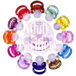 Pacifiers (Glitter Upgrade Options)
