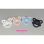 Plain Adult Pacifiers Butterfly Shield