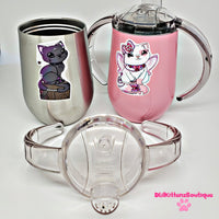 Twin Kitty Sippy Cups