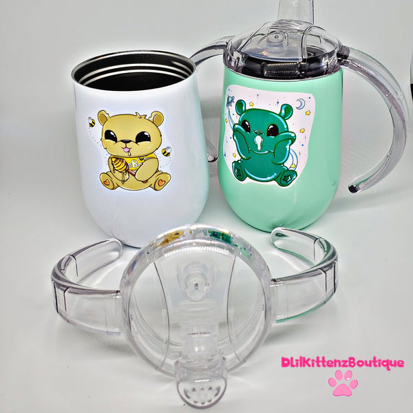 Twin Bear Sippy Cup Set