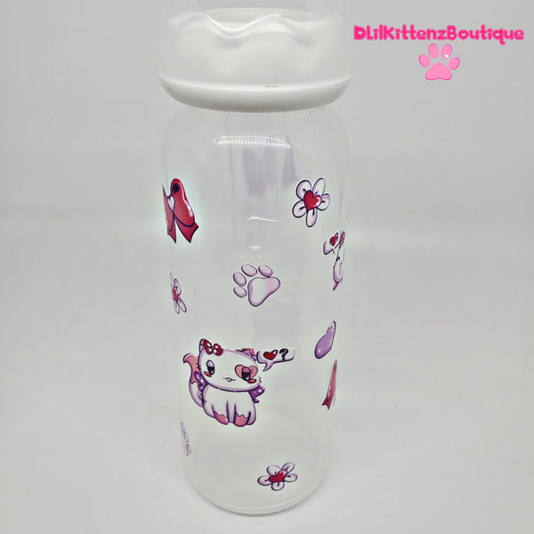 Deluxe Twin Kitty Adult Baby Bottles