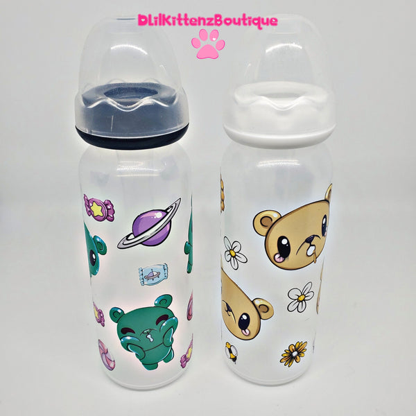 Deluxe Twin Bear Adult Baby Bottles