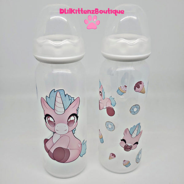 Sprinkle the Frilly Filly Adult Baby Bottles