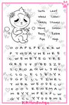 Stoner Sloth Word Search Activity Page
