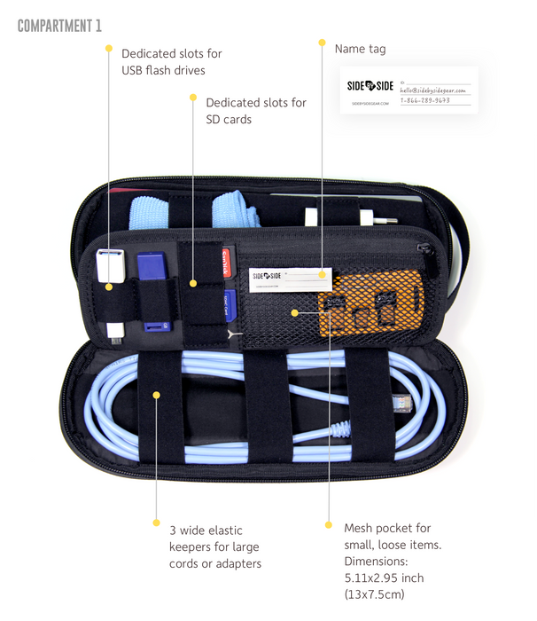 Power Packer Singapore - Cable Organizer  - the-Expedition.com