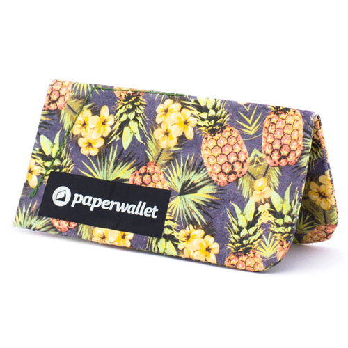 Paperwallet® Magic Coin Pouch Singapore - Wallet Tropic Pine - the-Expedition.com