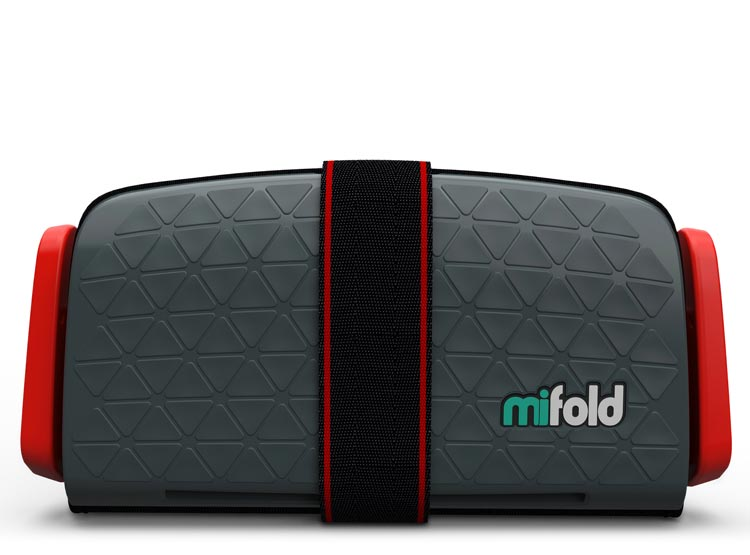 Mifold Booster Seat Singapore - Car Seat Slate Grey - the-Expedition.com