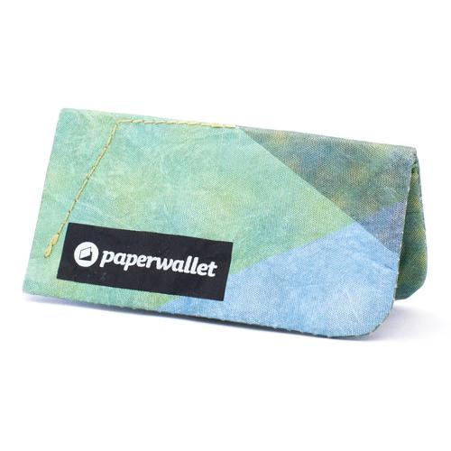 Paperwallet® Magic Coin Pouch Singapore - Wallet Triangle Moire - the-Expedition.com