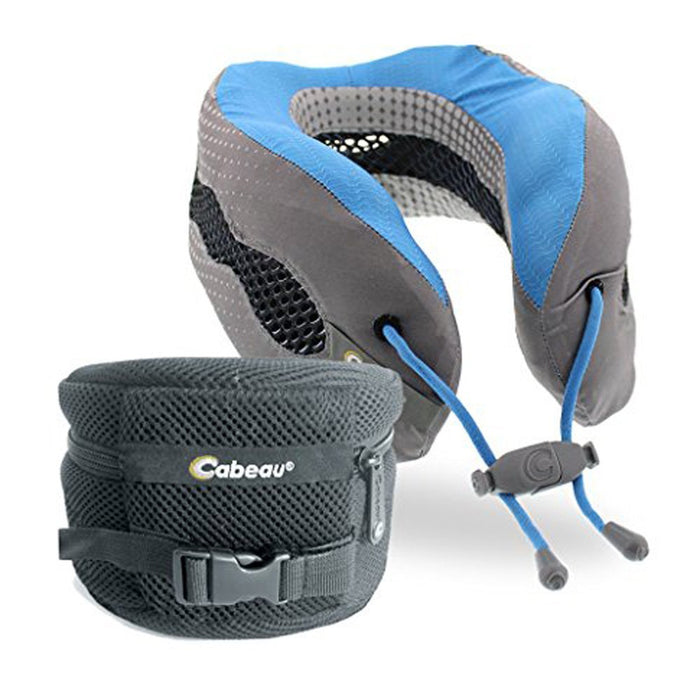 Cabeau Evolution Cool Travel Pillow Singapore - Travel Pillow Glacier - the-Expedition.com