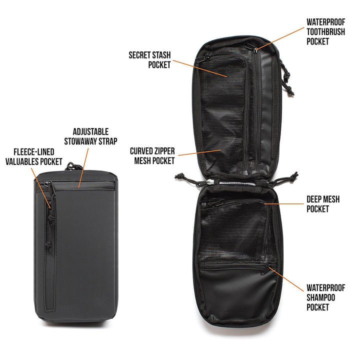 Gravel Premium Toiletry Bag Singapore - Toiletry Bag  - the-Expedition.com