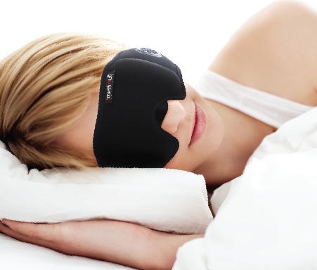 TravelMall 3D Breathable Sleep Mask Singapore - Sleep Mask  - the-Expedition.com