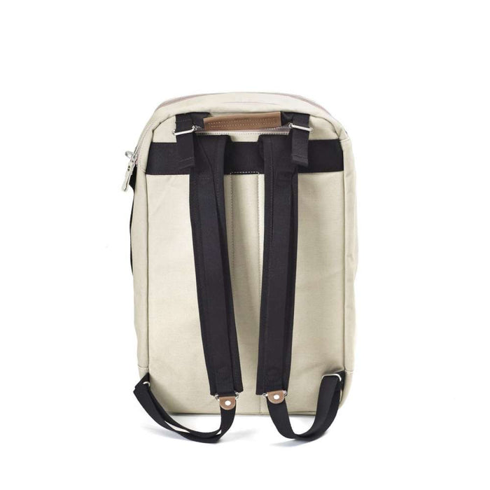 Qwstion Backpack Brown Leather Canvas Singapore - Backpack  - the-Expedition.com