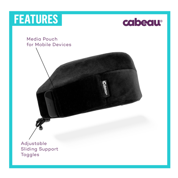 Cabeau Memory Foam Evolution Travel Pillow Singapore - Travel Pillow  - the-Expedition.com
