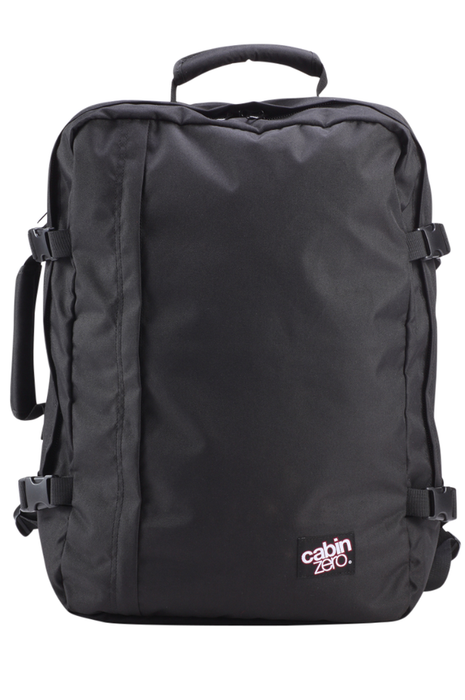 CabinZero 36L Classic Singapore - Backpack Absolute Black - the-Expedition.com