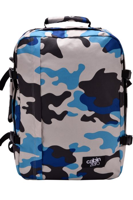 CabinZero 44L Classic Singapore - Backpack Blue Camo - the-Expedition.com