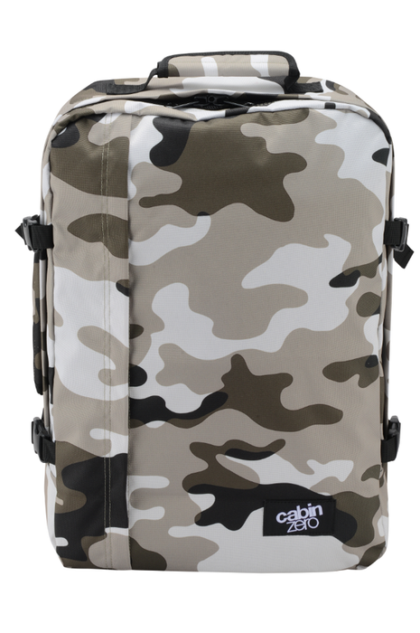 CabinZero 36L Classic Singapore - Backpack Grey Camo - the-Expedition.com