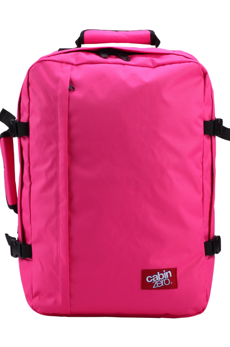 CabinZero 44L Classic Singapore - Backpack Hot Pink - the-Expedition.com
