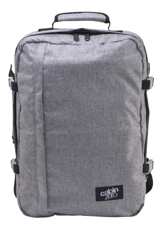 CabinZero Bags And Luggage Classic Jeans Singapore - Backpack 44L Ice Grey - the-Expedition.com