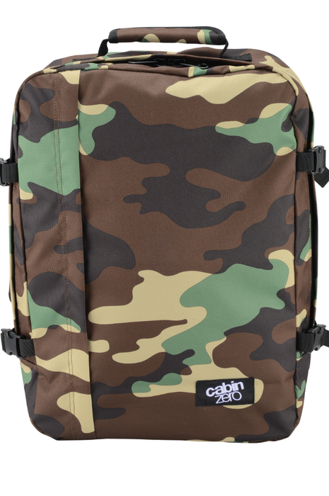 CabinZero 44L Classic Singapore - Backpack Jungle Camo - the-Expedition.com
