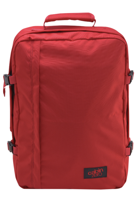 CabinZero 36L Classic Singapore - Backpack Naga Red - the-Expedition.com