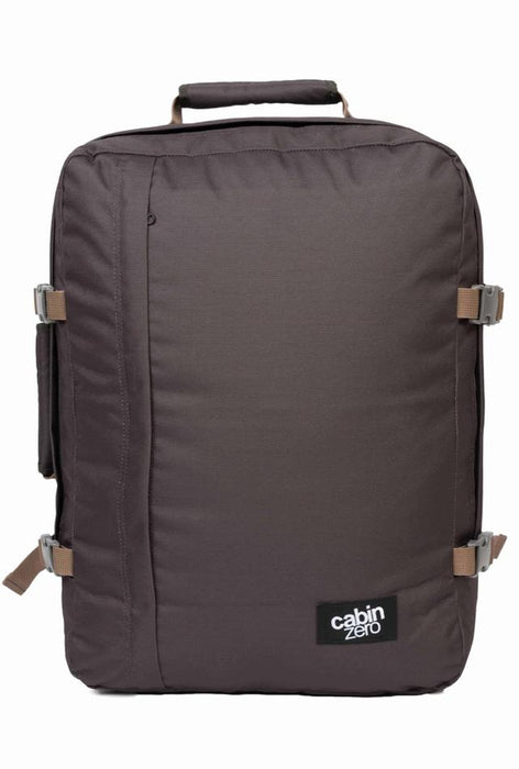CabinZero 44L Classic Singapore - Backpack Black Sand - the-Expedition.com