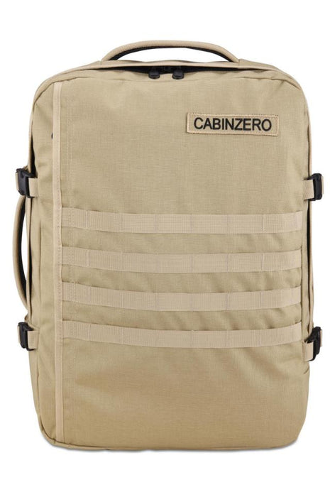 CabinZero 44L Adventure Military Singapore - Backpack Light Khaki (New) - the-Expedition.com