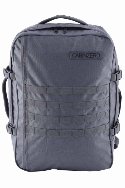 CabinZero 36L Adventure Military Singapore - Backpack Grey - the-Expedition.com