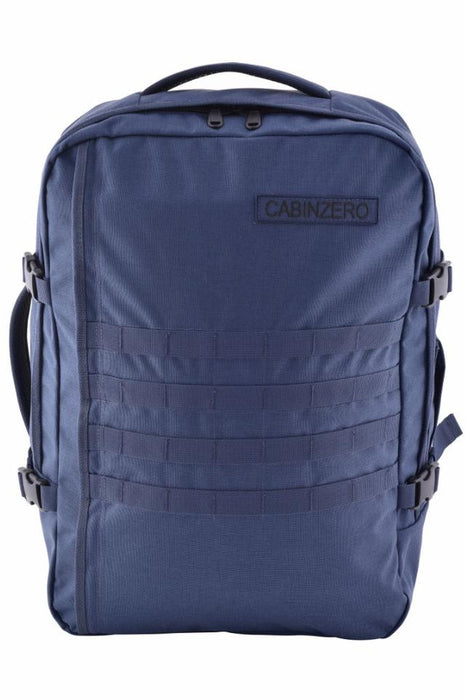 CabinZero 44L Adventure Military Singapore - Backpack Navy (New) - the-Expedition.com