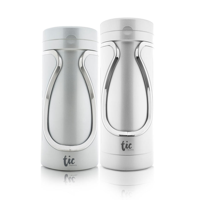 TIC Travel Bottles Singapore - Soap Container Shower & Skin Set / Metallic Silver - the-Expedition.com