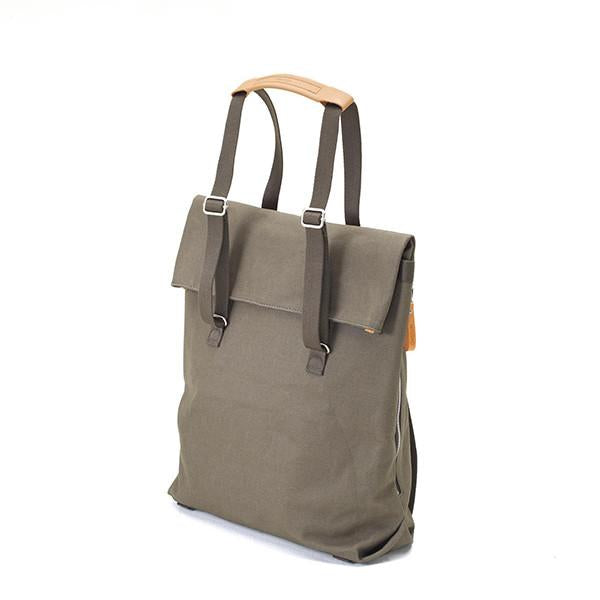 Qwstion Day Tote V1 Singapore - Tote Organic Forest Green - the-Expedition.com