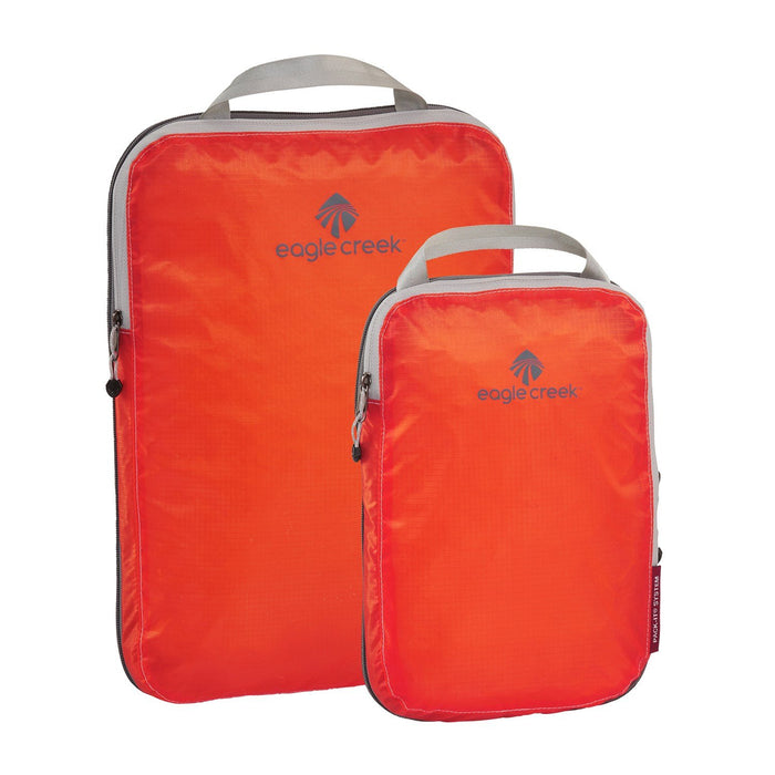 Eagle Creek Pack-It Specter Compression Cube Set Singapore - Packing Cube Flame Orange - the-Expedition.com