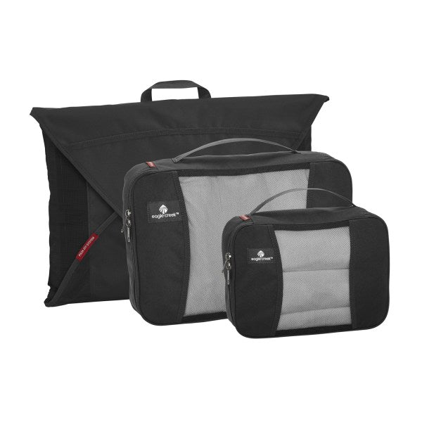 Eagle Creek Pack-It Original Packing Cubes Starter Set Singapore - Packing Cube Black - the-Expedition.com