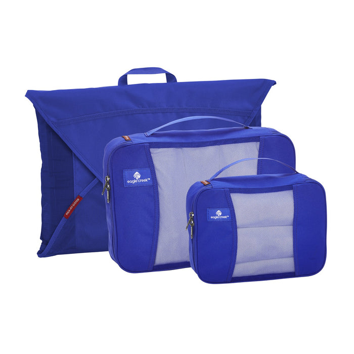 Eagle Creek Pack-It Original Packing Cubes Starter Set Singapore - Packing Cube Blue Sea - the-Expedition.com