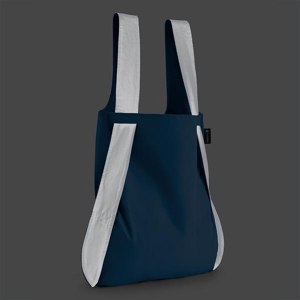 Notabag Singapore - Tote Reflective Blue - the-Expedition.com