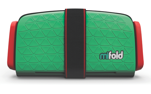 Mifold Booster Seat Singapore - Car Seat Lime Green - the-Expedition.com