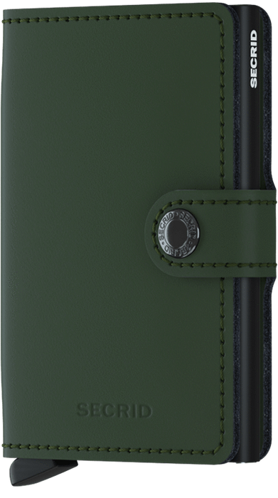 SECRID Miniwallet Matte Singapore - Wallet Green - the-Expedition.com
