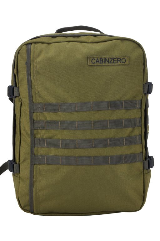 CabinZero Bags And Luggage Adventure Military 44L Singapore - Backpack Green - the-Expedition.com