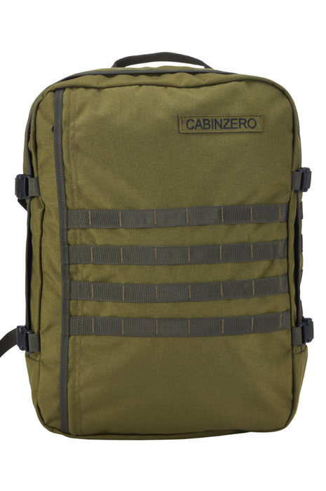 CabinZero 44L Adventure Military Singapore - Backpack Green - the-Expedition.com