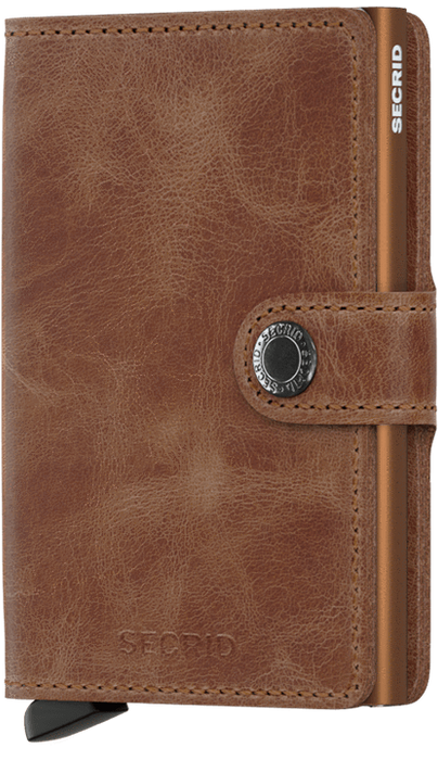 SECRID Miniwallet Vintage Singapore - Wallet Cognac/Rust - the-Expedition.com