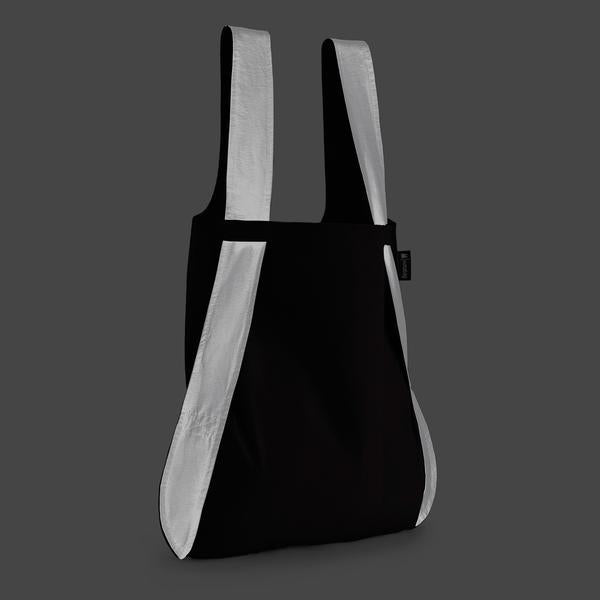 Notabag Singapore - Tote Reflective Black - the-Expedition.com