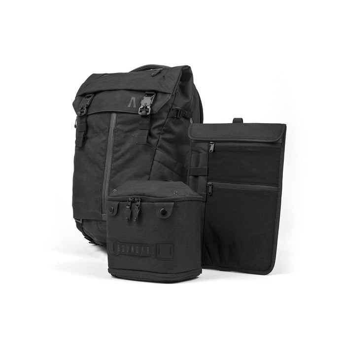 Boundary Prima System: The Ultimate Modular Pack Singapore - Backpack Obsidian Black - the-Expedition.com