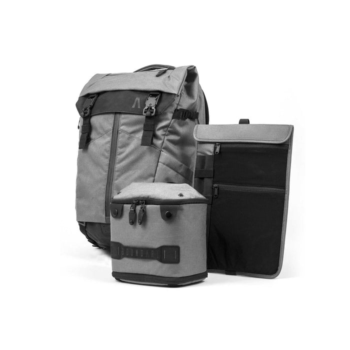 Boundary Prima System: The Ultimate Modular Pack Singapore - Backpack Stone Grey - the-Expedition.com