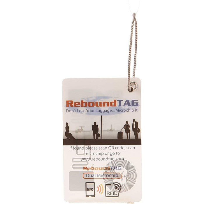 ReBound Microchip Luggage Tag Singapore -   - the-Expedition.com