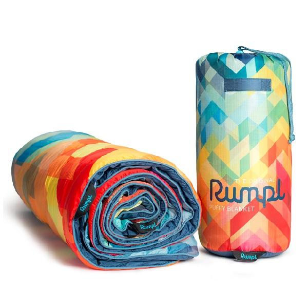 Rumpl Puffy Blanket - Geo Fractal Singapore - Blanket  - the-Expedition.com