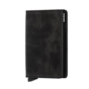 SECRID Slimwallet Vintage Singapore - Wallet Black - the-Expedition.com