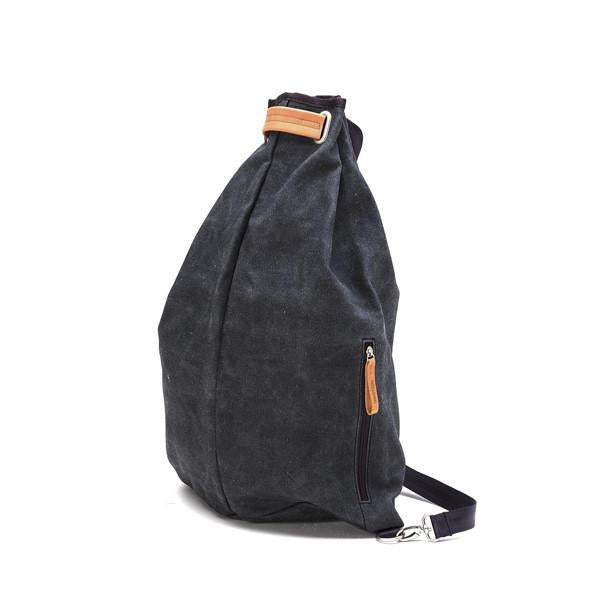Qwstion Simple Bag V3 Singapore -  Washed Black - the-Expedition.com