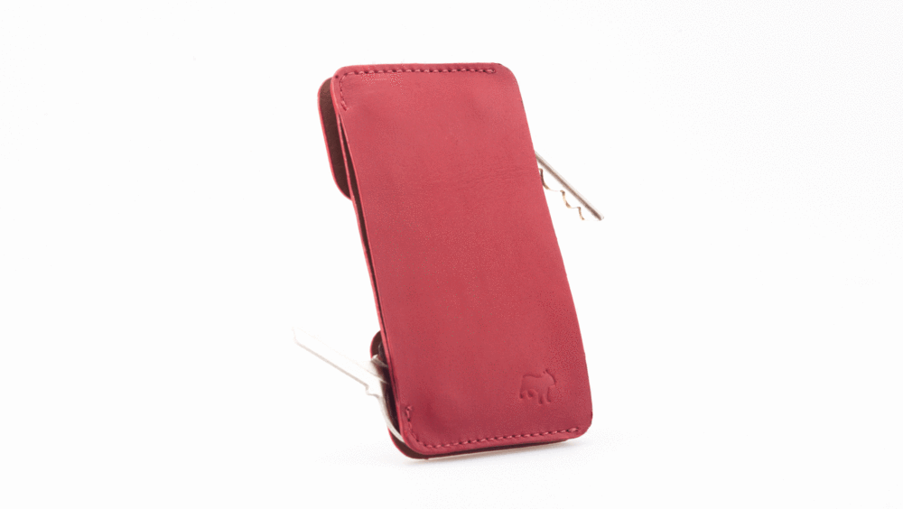 Frenchie Speed Key Holder Singapore - Wallet Red - the-Expedition.com