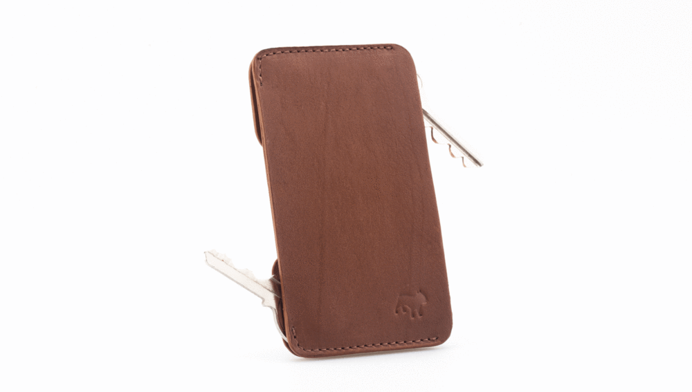 Frenchie Speed Key Holder Singapore - Wallet Saddle Brown - the-Expedition.com