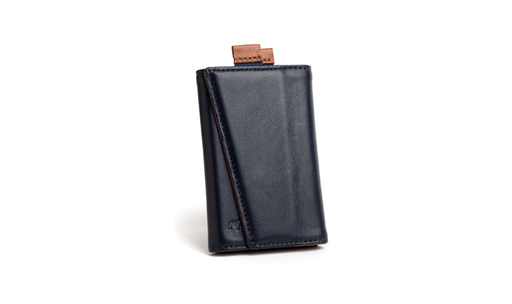 Frenchie Speed Wallet Singapore - Wallet Ultra Navy/Tan - the-Expedition.com