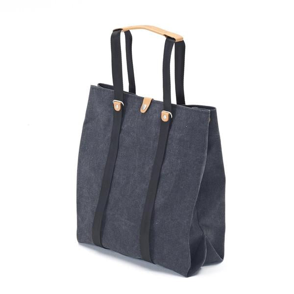 Qwstion Shopper V1 Singapore - Tote Washed Black - the-Expedition.com